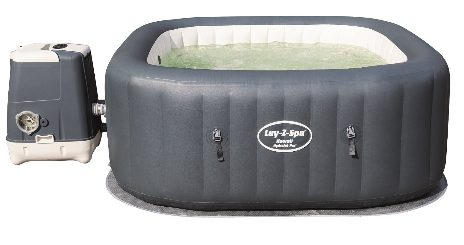 layzpa hawaii hydrojet inflatable hot tub