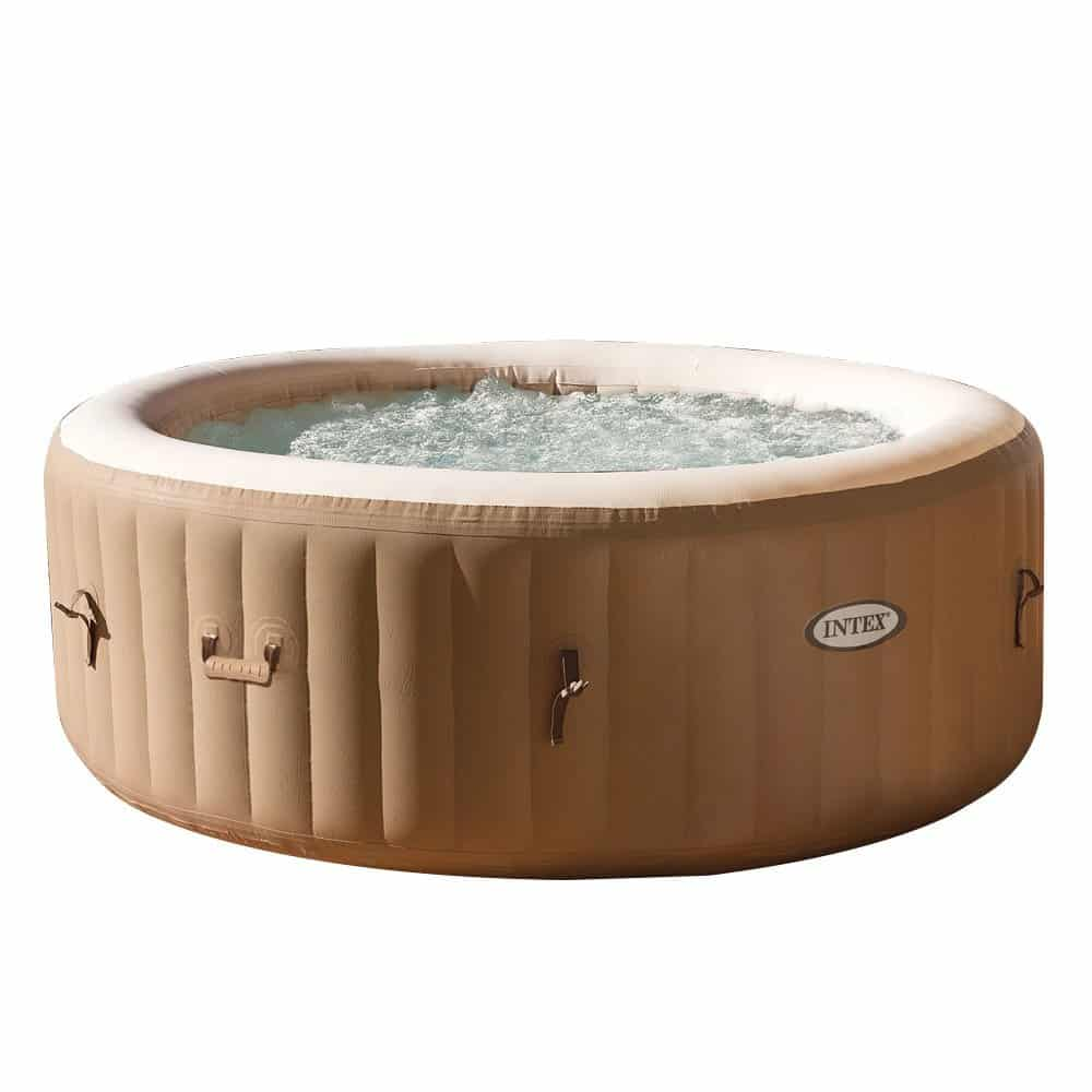 intex77 in inflatable hot tub